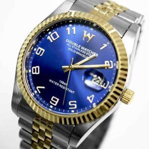 ダブルウォッチーズ DOUBLE WATCHES メンズアナログ腕時計 ウォッチ クォーツ DSK832414|brandcojp
