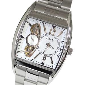 フィッチェ FICCE メンズアナログ腕時計 メンズウォッチ ツインムーブメント(クォーツ&自動巻き) 正規代理店商品 FC-11035-01|brandcojp