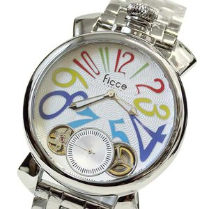 フィッチェ 腕時計 メンズ FICCE アナログ ウォッチ ツインムーブ 正規代理店商品 FC-11062-03(半額以下)|brandcojp