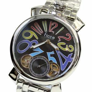 フィッチェ 腕時計 メンズ FICCE アナログ ウォッチ ツインムーブ 正規代理店商品 FC-11062-04(半額以下)|brandcojp