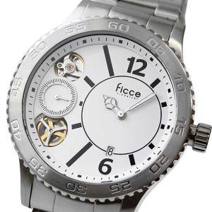 フィッチェ 腕時計 メンズ FICCE アナログ ウォッチ ツインムーブ FC-11069-01(半額以下)|brandcojp