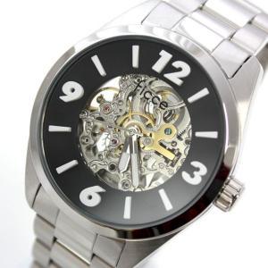 フィッチェ FICCE メンズアナログ腕時計 ウォッチ 自動巻き 正規代理店商品 FC-11071-02(半額以下)|brandcojp