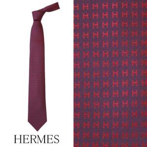 エルメス ネクタイ レギュラータイ H織りタイ HERMES HERMES-TIE-WRD|brandcojp