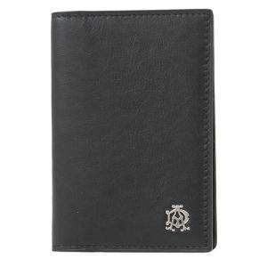 ダンヒル カードケース メンズ 名刺入れ REEVES BUSINESS CARD CASE A-BLACK(リーブス ビジネス カードケース A ブラック) Dunhill L2XR47A|brandcojp