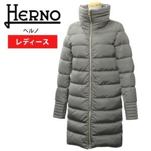 ヘルノ ダウンコート レディース ダウンジャケット ロング丈 HERNO PI0342D 12170 9450 PRODUZ|brandcojp
