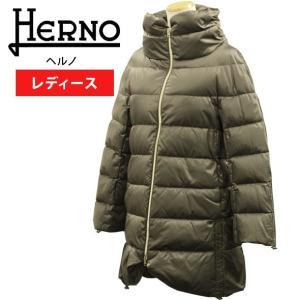 ヘルノ ダウンコート レディース ダウンジャケット ロング丈 HERNO PI0354D 13116 2700 PRODUZ|brandcojp