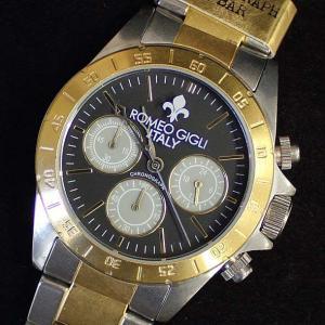 ロメオジリ ROMEO GIGLI メンズアナログ腕時計 クロノグラフ 正規代理店商品 RGA-96090105 brandcojp