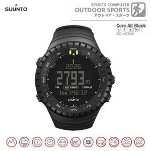スント SUUNTO メンズデジタル腕時計 コア・オールブラック 正規代理店商品 メンズウォッチ Core All Black SS014279010 brandcojp