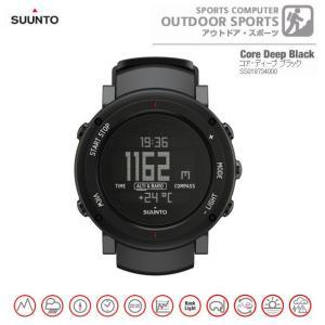 スント SUUNTO メンズデジタル腕時計 コア・ディープ ブラック 正規代理店商品 メンズウォッチ Core Deep Black SS018734000 brandcojp