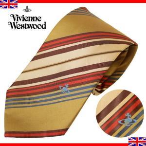 ヴィヴィアンウエストウッド ネクタイ レギュラータイ ストライプ シルク Vivienne Westwood T10 F718 0001|brandcojp