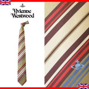ヴィヴィアンウエストウッド ネクタイ レギュラータイ ストライプ シルク Vivienne Westwood T85 F718 0001|brandcojp