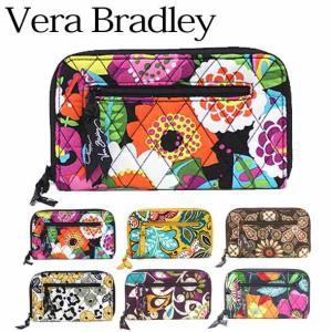 ヴェラブラッドリー 財布 セール Vera Bradley ラウンドファスナー長財布 Zip-Around Wallet(ジップ・アラウンド・ウォレット) 10112(お取り寄せ)|brandcojp