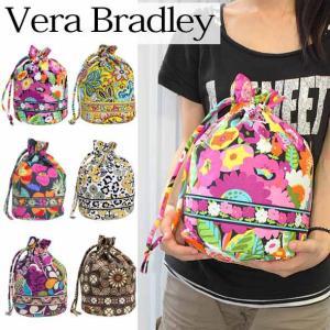ヴェラブラッドリー バッグ セール Vera Bradley ベラブラッドリー 巾着バッグ Ditty Bag(ディティー・バッグ) 10132(お取り寄せ)|brandcojp