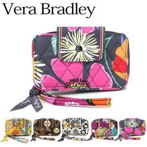 ヴェラブラッドリー 財布 セール Vera Bradley ポーチ Smartphone Wristlet(スマートフォン・リストレット) 12423(お取り寄せ)|brandcojp