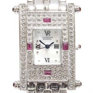 バレンチノロレンタ VALENTINOROLENTA 腕時計 天然ルビー メンズアナログ腕時計 VR-112-MR(半額以下)|brandcojp