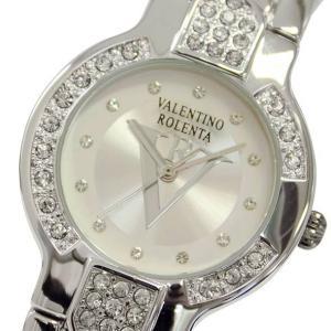 バレンチノロレンタ 腕時計 メンズ アナログ クォーツ シルバー×ホワイト VALENTINOROLENTA VR-122M(半額以下)|brandcojp