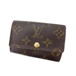 ルイヴィトン Louis Vuitton キーケース 6連 モノグラム ミュルティクレ6 レディース 中古 Key Case|branddepot-tokyo