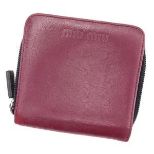 reputable site 5f04b de86a ミュウミュウ 二つ折り財布 メンズの商品一覧 通販 - Yahoo ...