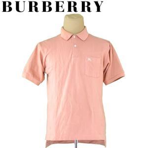 バーバリー ポロシャツ 半袖 カットソー ♯Lサイズ ホース刺繍 BURBERRY 中古