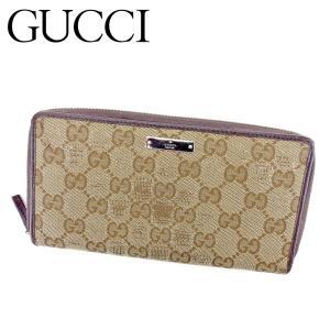 ■管理番号:B1052  【商品説明】 グッチ【GUCCI】の  長財布です。 定番人気のGGキャン...