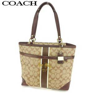■管理番号:B990  【商品説明】 コーチ【COACH】の  トートバッグです。 定番人気のシグネ...
