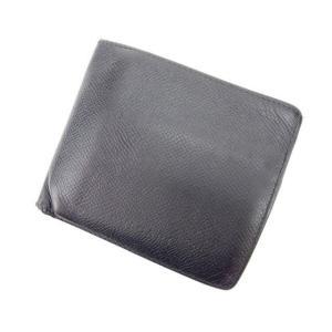 ■管理番号:C1264 【商品説明】 ブルガリ【BVLGARI】の  二つ折り財布です♪ ◆ランク ...