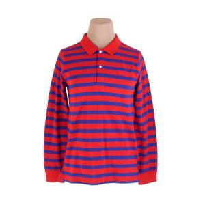 バーバリー チルドレン ポロシャツ ホース刺繍 キッズ12Y152サイズ ボーダー BURBERRY...