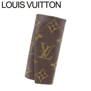 ルイ ヴィトン Louis Vuitton キーケース 4連キーケース レディース メンズ ヴィンテージ No.264 モノグラム 中古|branddepot-tokyo