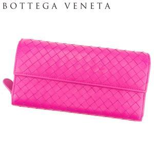 ■管理番号:C3553  【商品説明】 ボッテガ ヴェネタ【BOTTEGA VENETA】の  長財...