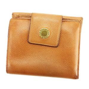ブルガリ Wホック 財布 二つ折り 財布 ブルガリブルガリ BVLGARI 中古