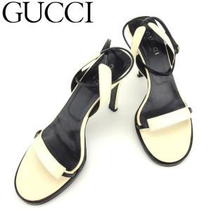 2cdf806bde28 グッチ GUCCI サンダル シューズ 靴 レディース ♯37C ハイヒール アンクルストラップ 中古 人気 セール D1905