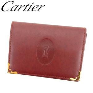■管理番号:D1911  【商品説明】 カルティエ【Cartier】の  定期入れです。 定番人気の...