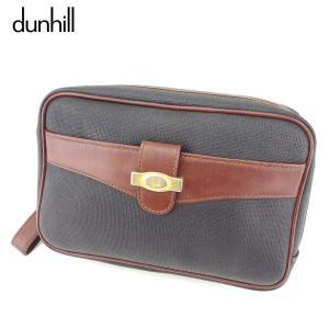 ■管理番号:D1962  【商品説明】 ダンヒル【dunhill】の  クラッチバッグです。 上品な...