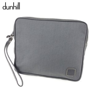 ■管理番号:D1965  【商品説明】 ダンヒル【dunhill】の  クラッチバッグです。 上品な...