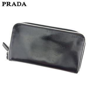 ■管理番号:D2016  【商品説明】 プラダ【PRADA】の  長財布です。 シンプルで上品なデザ...