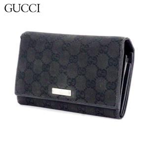 ■管理番号:D2116  【商品説明】 グッチ【GUCCI】の  長財布です。 定番人気のGGキャン...