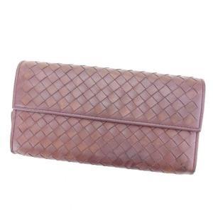 ■管理番号:F1123  【商品説明】 ボッテガヴェネタの  長財布です。 定番人気のイントレチャー...