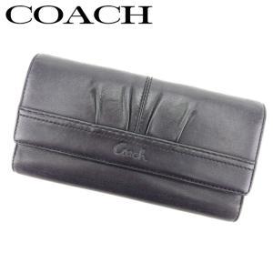 ebab47812130 コーチ COACH 長財布 三つ折り 財布 レディース メンズ 可 プリーテッド 訳あり セール