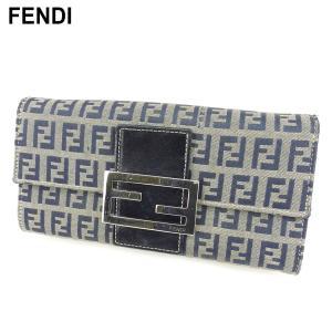 ■管理番号:G1373  【商品説明】 フェンディ【FENDI】の  長財布です。 定番人気のズッキ...