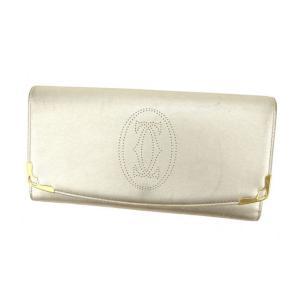 ■管理番号:G895  【商品説明】 カルティエの  長財布です。 定番人気の上品なマルチェロライン...