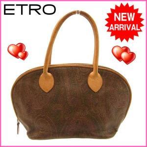 ■管理番号:H005 【商品説明】 エトロ【ETRO】の  ハンドバッグです♪ ◆ランク 【5】 【...
