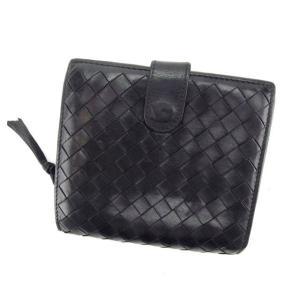 ■管理番号:H280 【商品説明】 ボッテガヴェネタの  二つ折り財布です♪ 定番人気のイントレチャ...