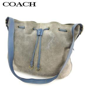 ■管理番号:H600  【商品説明】 コーチ【COACH】の  ショルダーバッグです。 大きく開くの...