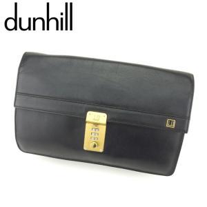 ■管理番号:H618  【商品説明】 ダンヒル【dunhill】の  クラッチバッグです。 高級感の...