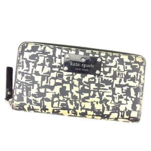 ■管理番号:L1328 【商品説明】 ケイト スペード【kate spade】の  長財布です。 オ...