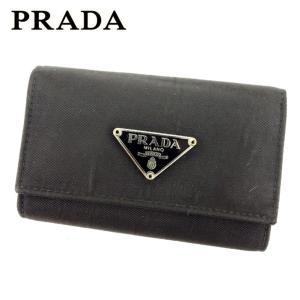 プラダ PRADA キーケース レディース メンズ 中古 人気 セール L2447|branddepot-tokyo