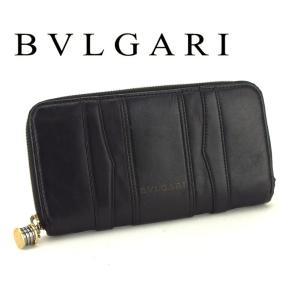 ■管理番号:L2667  【商品説明】 ブルガリ【BVLGARI】の  長財布です。 定番人気のビー...