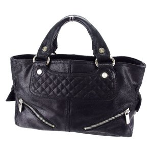 f584d2fde846 セリーヌ Celine バッグ ハンドバッグ ブギーバッグ ブラック レディース メンズ 中古 Bag