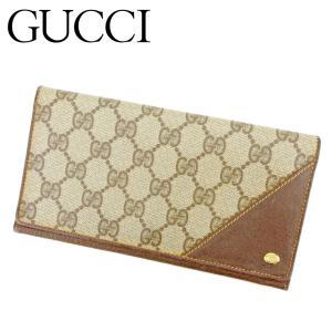 ■管理番号:P784  【商品説明】 グッチ【GUCCI】の  長財布です。 定番人気のGG柄☆厚み...