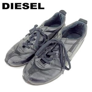 ■管理番号:P902  【商品説明】 ディーゼル【DIESEL】の 「US6.5サイズ」 スニーカー...